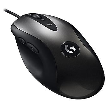 Logitech MX518 16000DPI 8-keys Programmable Wired Optical E-sports Gaming Mouse, Length: 2m (Black)