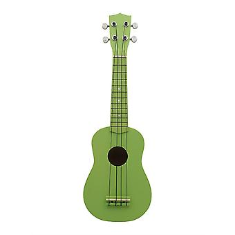 21inch Ukelele String Instruments 4 String Guitar Mini Guitar Green