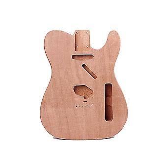 Wood Guitar Body DIY Mahogany Guitar Replacement Unfinished Electric Guitar Body