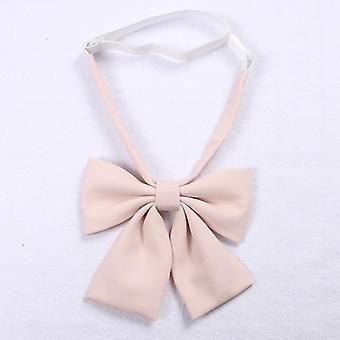 Jk Uniform Bow Tie Fluture Cravat Solid Color Scoala Costum