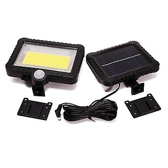 Led Light - Outdoor Solar Powered Sunlight For Garden Security Night Wall Split