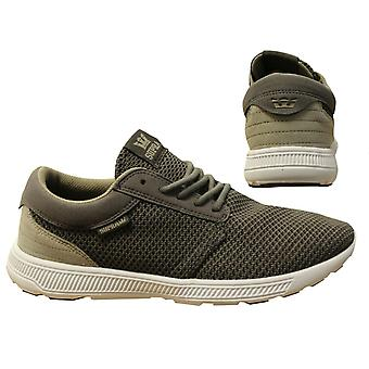 Supra Hammer Run Grey Mesh Lace Up Casual Mens Running Trainers 08128 036 B84D