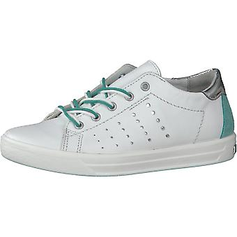 RICOSTA Laced Leather Trainer Style