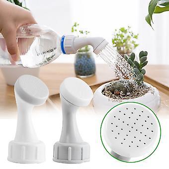 Gardening Sprinkler 2 PCS Watering Can Nozzle For Bottle Plastic Sprinkler Irrigation Shower Head Indoor Waterers Garden Tool