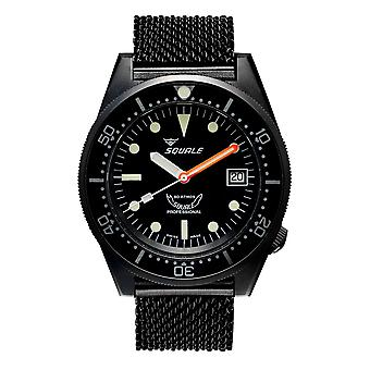 Squale 1521PVD.20 500 Meter Swiss Automatic Dive Wristwatch Mesh
