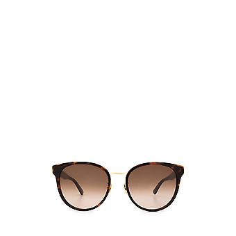 Bottega Veneta BV1081SK havana female sunglasses