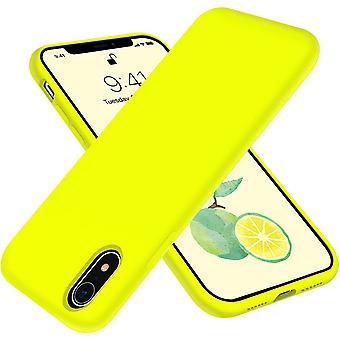 Iphone Xr Soft Liquid Silicone Rubber Protective 6.1 Inch Case