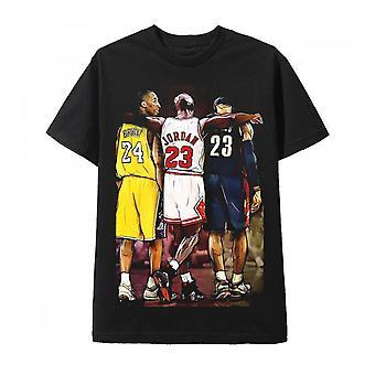 Kobe Bryant Michael Jordan i Lebron James T-Shirt