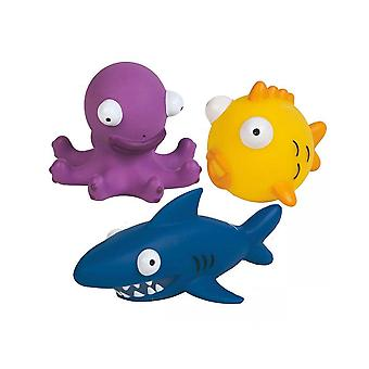 Speedo Sea Squad Squirty Childrens Underwater Swimming 3 Piece Bath/Pool Toys