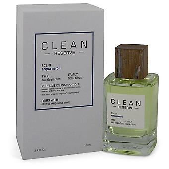 Clean Reserve Acqua Neroli Eau De Parfum Spray By Clean 3.4 oz Eau De Parfum Spray