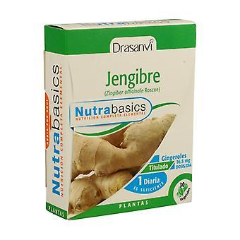 Nutrabasics Ginger 30 capsules of 481mg