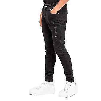Kungar kommer att drömma junior pojkar luxmor svarta jeans j444