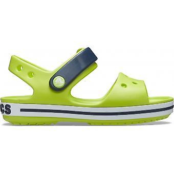 Crocs 12856 Crocband Sandaali Lasten Sandaalit Lime Punch