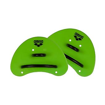 Arena Elite Finger Paddle - Acid Lime/Black