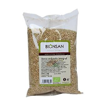 Organic Round Brown Rice 1 kg