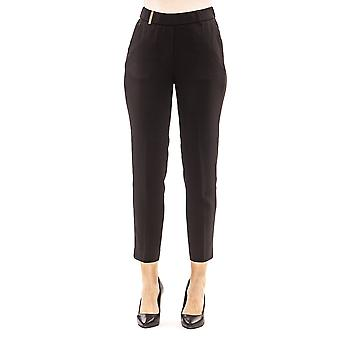 Black Trousers Peserico Woman