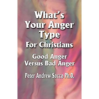 What's Your Anger Type For Christians - Good Anger Versus Bad Anger?
