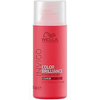 Wella Professionals Invigo Brilliance Grobes Shampoo 50 ml
