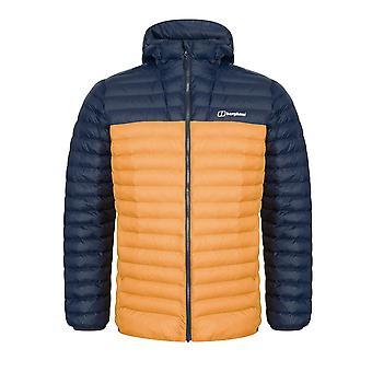 Berghaus Vaskye hombres aislados acolchado chaqueta al aire libre azul / naranja