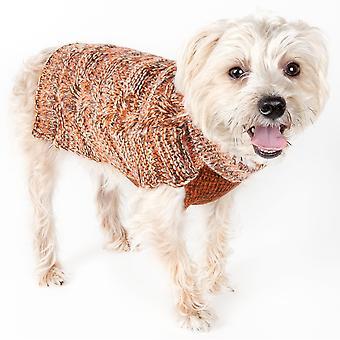 Königliche Rinde schwere Kabel gestrickt Designer Mode Hund Pullover - Sw16Tnolg