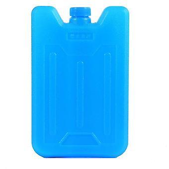 Hielo Hdpe, caja llena de agua, caja de hielo tipo avión para bolsas de almuerzo y bolsas más frías