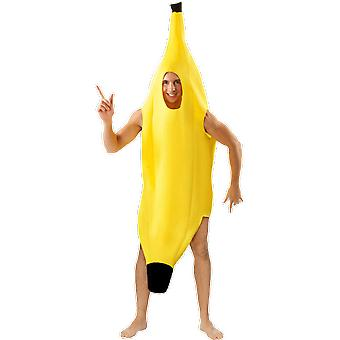 Orion kostuums Unisex Giant Banana Funny Food fancy dress kostuum