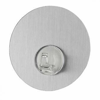 wall hook 8.5 x 2 cm silver