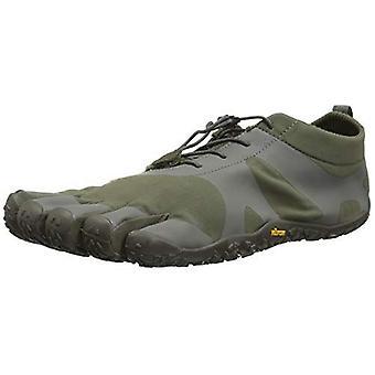 Vibram V-Alpha Mens Hiking Trail Five Fingers Mega Grip Shoes Trainers - Military Grey