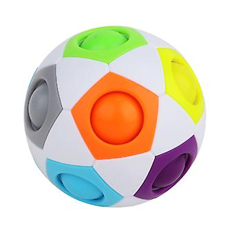 Rainbow Jigsaw Ball-learning Toy Decompress vent toys