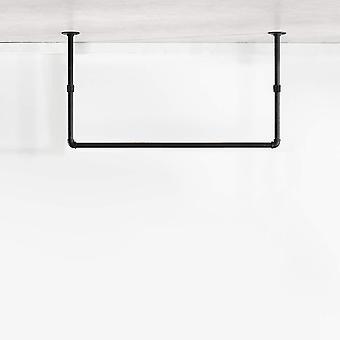 FengChun Kleiderstnder Decke I Deckenhnger im Industrial Design aus schwarzen Wasserrohren