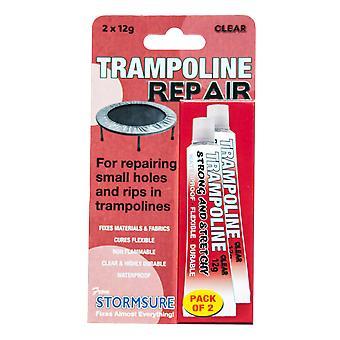 Trampolin Reparation Lim - Pack af 2