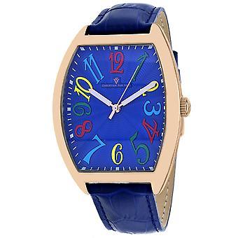 Christian Van Sant Men's Royalty II Blue Dial Watch - CV0377