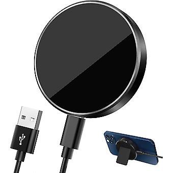 FengChun Magnetisch Wireless Charger, 15W Schnellladegerät mit MagSafe Ladegerät, Schnelles