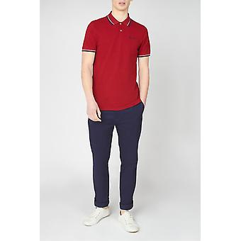 Ben Sherman Signature Polo - Red