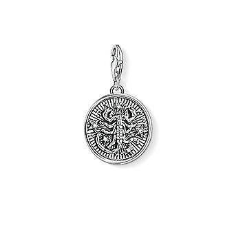 Thomas Sabo Medaljong Anheng fra Unisex Sterling Sølv 925(14)