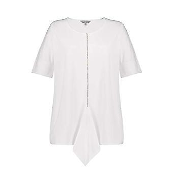 ULLA POPKEN T-Shirts mit Strassband T-Shirt, Wei , 58+ Woman