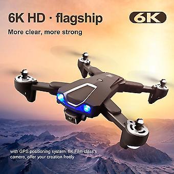 LS 25 Drone 5G WIFI GPS con cámara 6K HD doble cámara plegable RC Quadcopter| RC Quadcopter