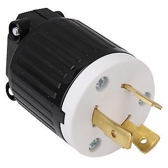 L14-30P Twist Locking Plug for Industrial Generator Cords 30A 125/250V