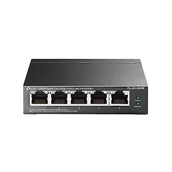 5 puertos Tp Link Tl Sg105Pe Gigabit Easy Smart Switch