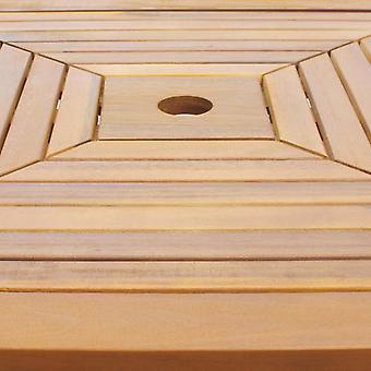 vidaXL bistrotafel 75x75x110 cm acacia massief hout