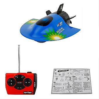 Brinquedos Mini Rc Brinquedo submarino, controle remoto impermeável, Mergulho natal