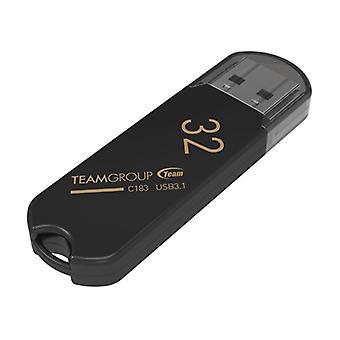 Team C183 32 GB USB 3.1 Svart USB-flashminne
