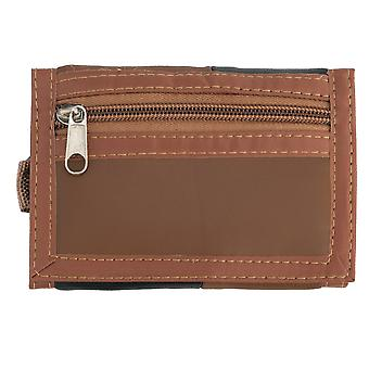 Soft Nappa Leather Ripper Wallet with Carabiner Clip