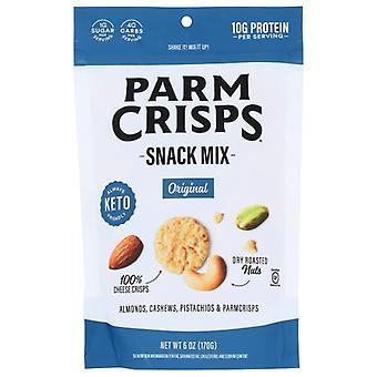Parm Crisps Crisps Snack Mix Original, Case of 12 X 6 Oz