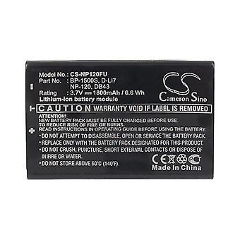 Cameron Sino Np120Fu Battery Replacement For Fujifilm Camera