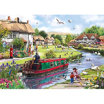 Gibsons Swanning Along Jigsaw Puzzle (1000 Pieces)