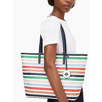 Kate Spade Tanya Smooth Leather Large Tote Shoulder Bag WKRU5902