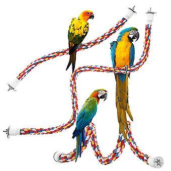 بانجي الطيور شنقا حبل متعدد الألوان