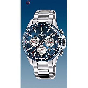 フェスティナ腕時計 メンF20560/2 タイムレスクロノグラフ
