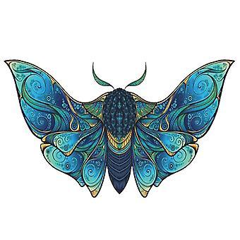 Fly Moth jigsaw puzzelstuk spel voor kinderen en volwassenen